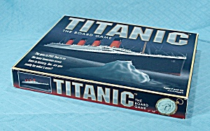 Titanic, The Board Game, Universal Games, 1998