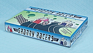 Granny Racers Slot Car Game, Jumpin' Banana