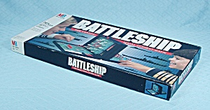 Battleship Game, Milton Bradley, 1990