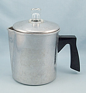 Small Aluminum Coffee Pot