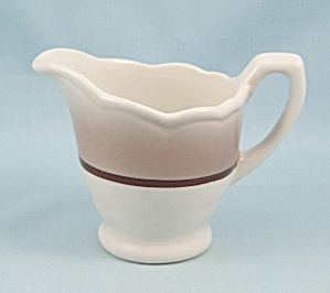 Syracuse Cream Pitcher, Sandlewood