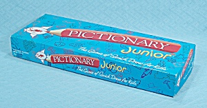 Pictionary Junior Game, Hasbro, 1999