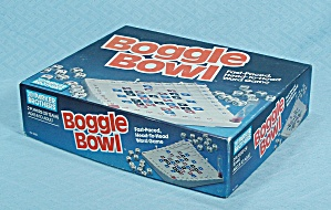 Boggle Bowl Game, Parker Brothers, 1987