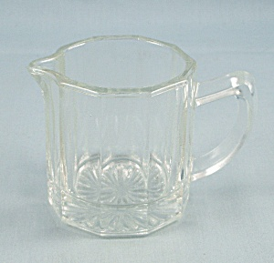 Indiana Glass - Clear, Panels – Mini Creamer (Image1)