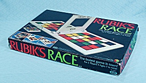 Rubik's Race Game, Ideal, 1982