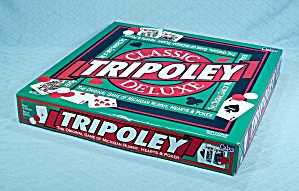 Classic Tripoley, Deluxe Edition Game, Cadaco, 1995