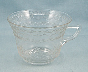 Patrician Cup, Federal Glass, Clear
