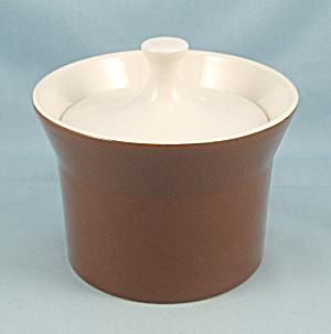 Royal Aztec Brown Sugar Bowl & Lid (Image1)