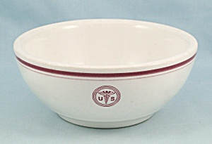 Walker China - Army Medical - 1952 - Chili Bowl