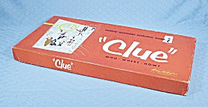 Clue Game, Parker Brothers, 1956 (Image1)