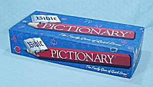 Bible Pictionary Game, Pictionary, Inc., 1998