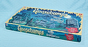 Goosebumps Terror In The Graveyard Game, Milton Bradley, 1995