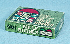 Mille Bornes, Vintage French Card Game, Parker Brothers, 1962