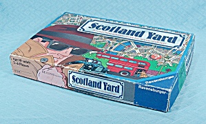 Scotland Yard Game, Ravensburger, 1991