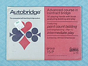 Autobridge, Advanced Course, Group 15 P, Refill
