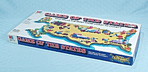 The Game Of The States, Milton Bradley, 1979