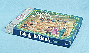 Break The Bank Game, Milton Bradley, 1977