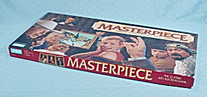 Masterpiece, The Classic Art Auction Game, Parker Brothers, 1996