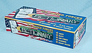 Pictionary, U.s. Armed Forces Edition, Usaopoly, 2001