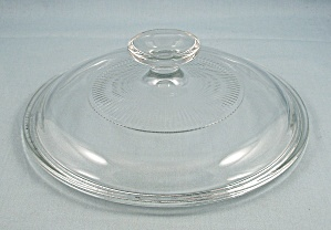 Pyrex Lid - G 5 C - 7-1/4 Inch - Ribbed