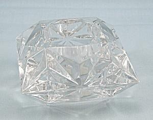 PartyLite – Quad Prism Tealite / Votive Holder – Lead Crystal (Image1)