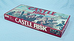 Castle Risk Game, Parker Brothers, 1986