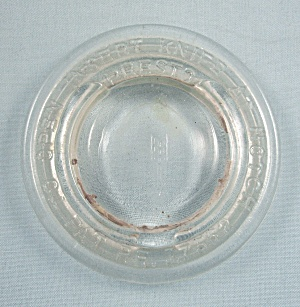 Presto - Pat. Glass Canning Jar Glass Insert