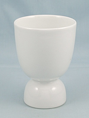 Porcelain - White Double Egg Cup