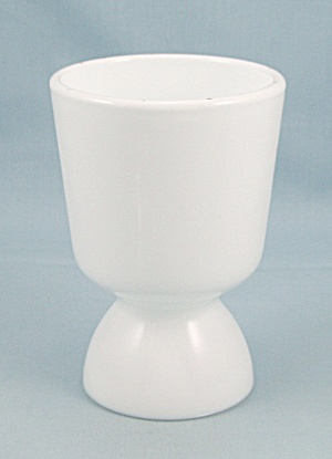 Milk Glass - Reversible/double Egg Cup