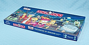 The Simpsons Treehouse Of Horror Monopoly Game, Usaopoly, 2005