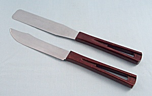 Two Stanhome Utensils - Utility Knife, And Spatula/spreader