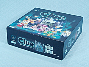 Clue, Disney, The Haunted Mansion Game, Parker Brothers, 2004