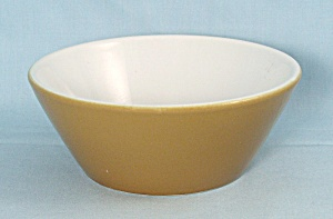 Gold And White Bowl, Shenango Form