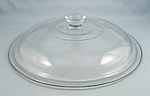 Large Glass Lid, 9-inch, Fire King