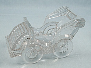 Clear Glass Novelty - Touring Car, 5-inch