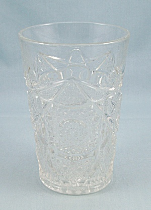 EAPG – Flat Tumbler, Hobstar & Arches (Image1)