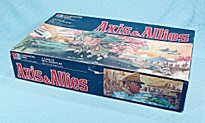 Axis & Allies Game, Milton Bradley, 1984