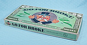 Go For Broke Game, Selchow & Righter, 1965