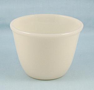 Vintage Fire King - Ivory Baker Custard Bowl (Image1)