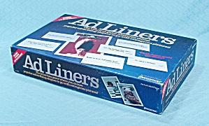 Ad Liners Game, Pressman, 1989 (Image1)