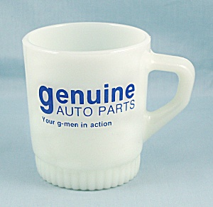 Fire King - G-men In Action, Mug - Genuine Auto Parts