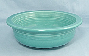 Fiesta, Turquoise, Round Vegetable Bowl, 8-inch