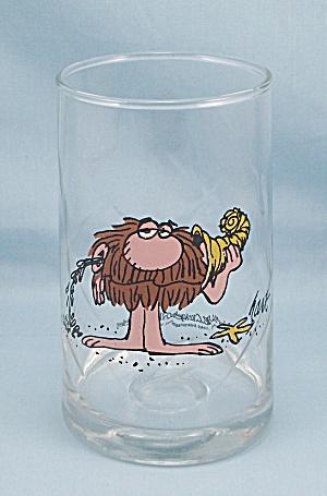 BC Tumbler, 1981 Arby's Premium, Ice Age/ Caveman (Image1)