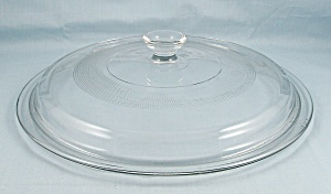 Large Glass Lid, 9.5 Inch, Fire King