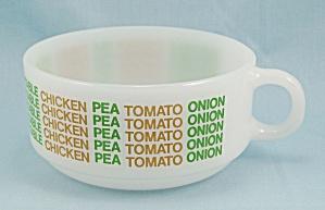 Glasbake- Handled Soup Bowl – Soups On Sides (Image1)