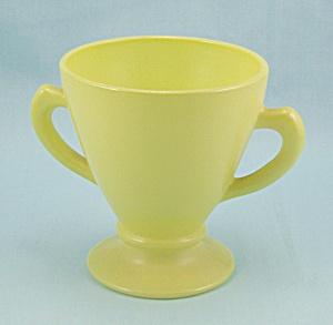 Hazel Atlas – Ovide -Yellow – Sugar Bowl (Image1)