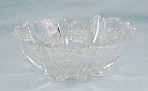 Higbee Glass,  Paneled Thistle Pattern – 6-Inch Bowl (Image1)