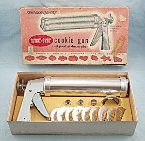 Wear-ever Cookie Gun Pastry Decorator #2