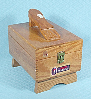 Oak Esquire Shoe Care Chest