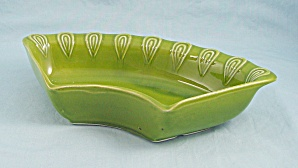 California Pottery Usa L 74 - One Green Relish Replacement Tray